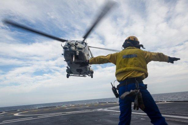 """Exercice de lutte anti sous-marine (LASM) """"SQUALE"""" du 8 au 12 d"""